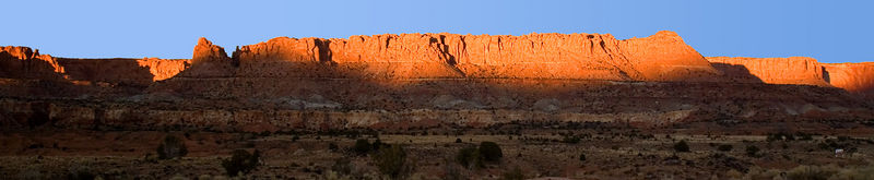 Capital Reef National Park: This view doesn't give justice to the beauty of this National Park.