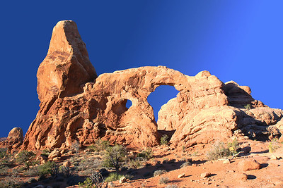Views of the Turret Arch.