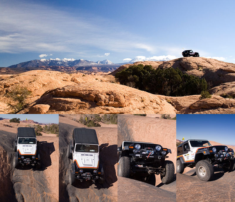 "Moab is the ""capital"" of 4 wheelers. Our guide took us on some ""hairy"" trail. Check out our guide next ..."