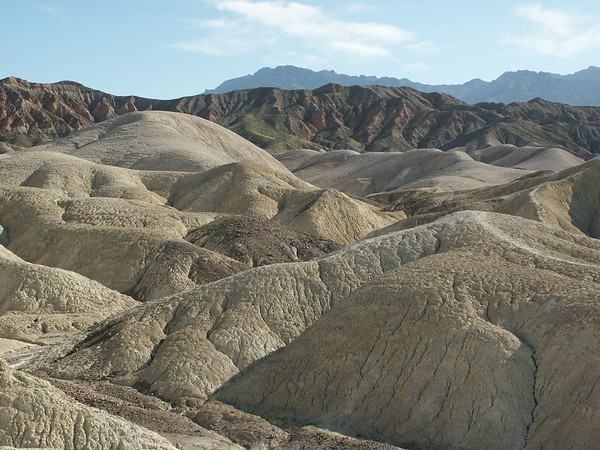 Zabriskie point in the background.