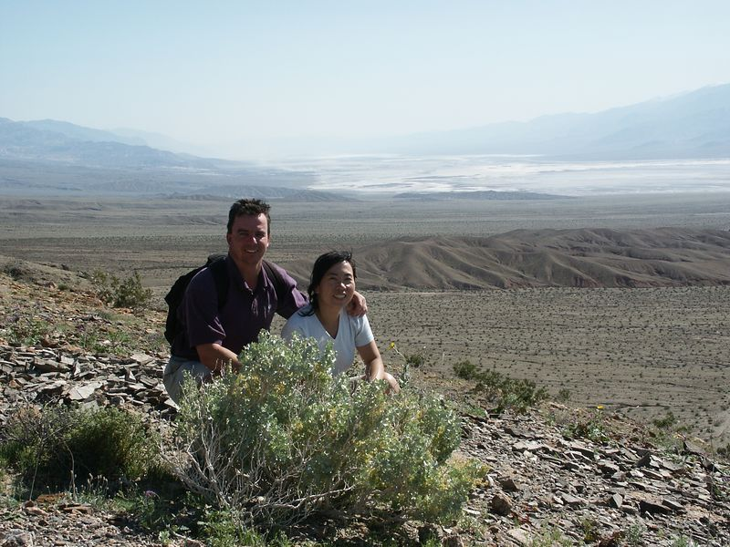 View of Death Valley from Keane Wonder Mine.