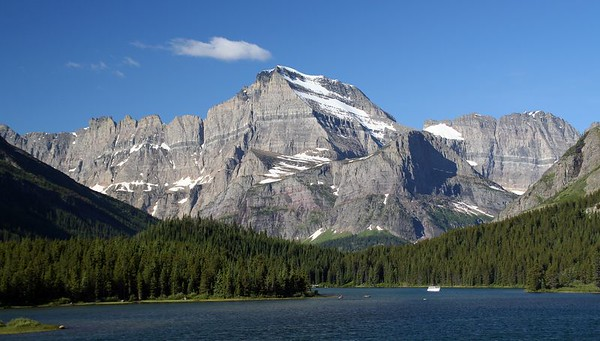 Swiftcurrent Lake at Many Glacier.