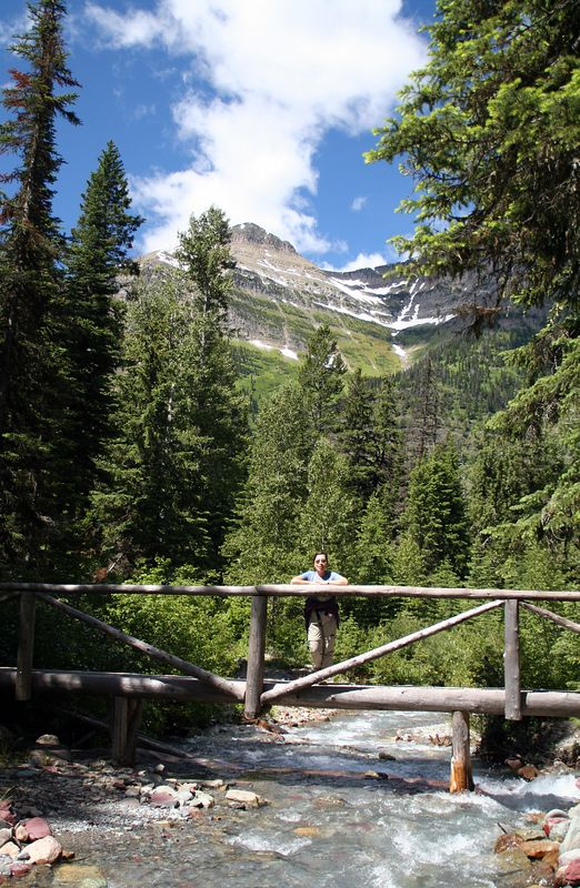 Trail to Kootenai Lake.