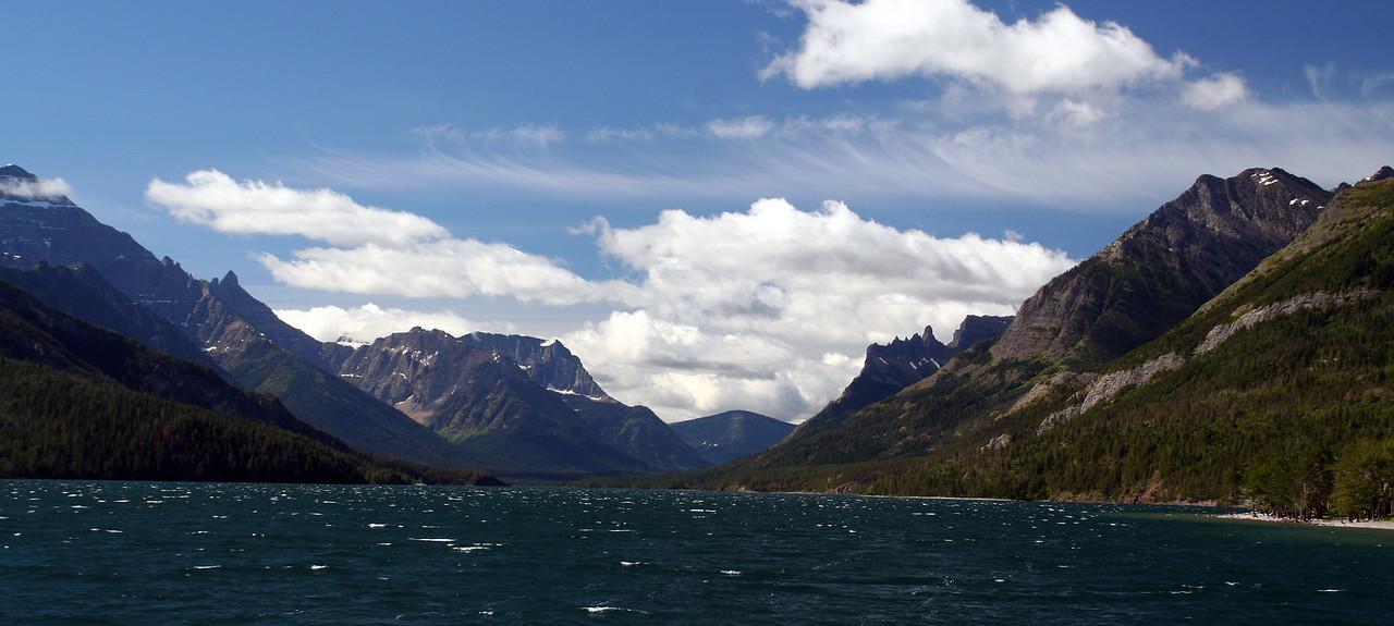 Waterton Lake.