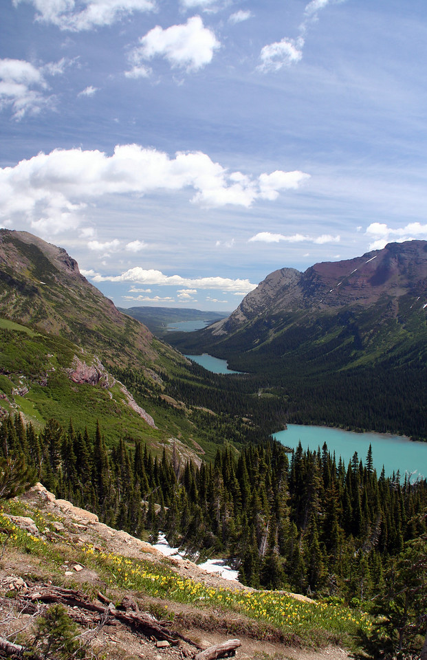 Grinnell and Josephine Lake.