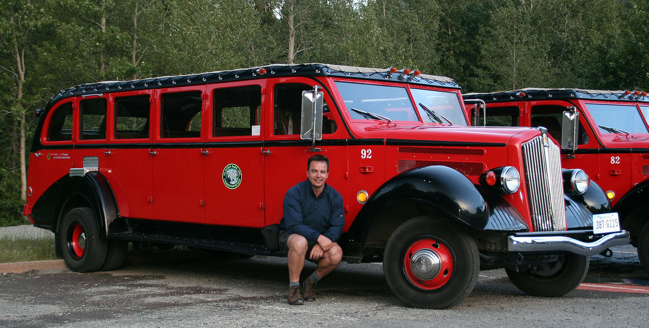 """Historic """"red buses"""" to travel over Going-To-The-Sun Road"""