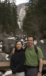 February 2006: Vernal Fall.