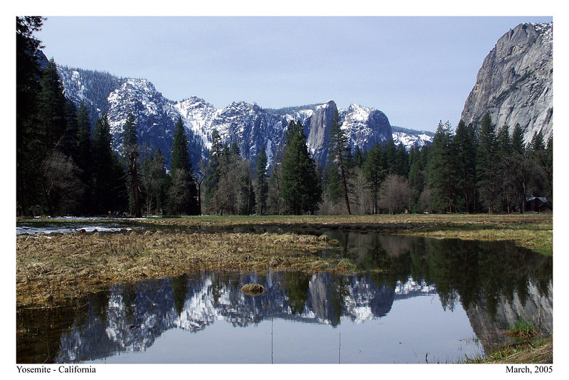 January 2005: Yosemite Valley.