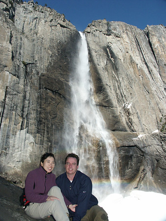 January 2005: Upper Yosemite Fall.