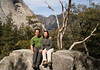 February 2006: View point from John Muir Trail. Upper Yosemite in the background.