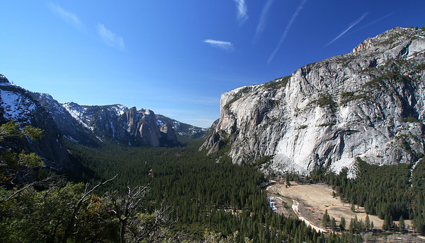 February 2006: Yosemite Valley.