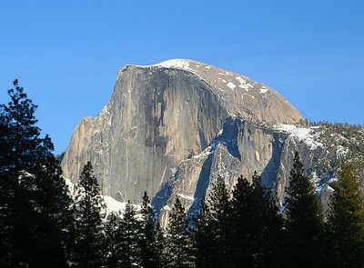 February 2006: Half Dome from Sentinel bridge.