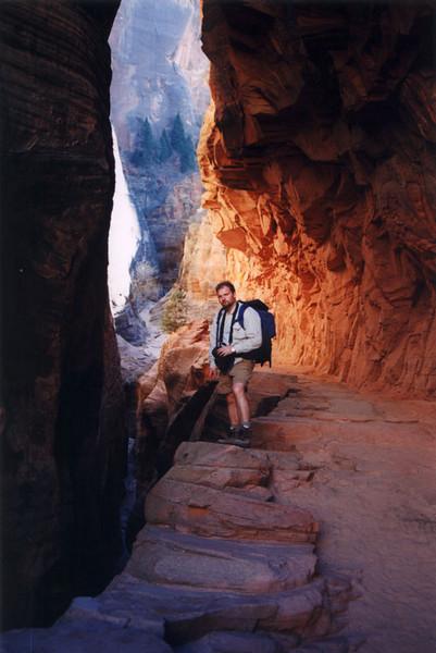 Zion N.P. - Echo Canyon