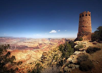 Desert View Watchtower, Grand Canyon NP