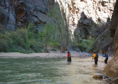 Entrance to the Narrows, Zion NP