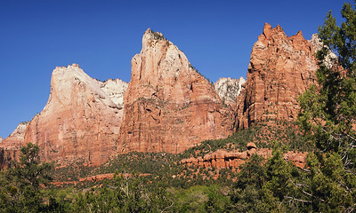 Court of the Patriarchs, Zion NP