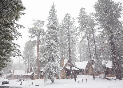 Blizzard at Bryce Canyon NP