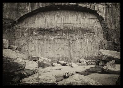 Riverside Walk Arch, Zion NP