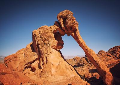 Elephant Rock.  Valley of Fire SP