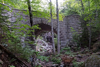 The Waterfall Bridge - 1925, over Hadlock Brook.