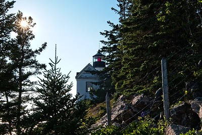 Bass Harbor Lighthouse.