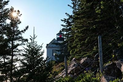 Bass Harbor Lighthouse.