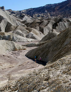 Gower Gulch Trail - Death Valley National Park, CA.