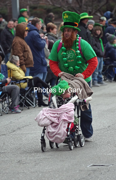 St. Patrick's Day Parade, March.