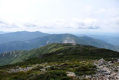 Far above the Greenleaf Hut.