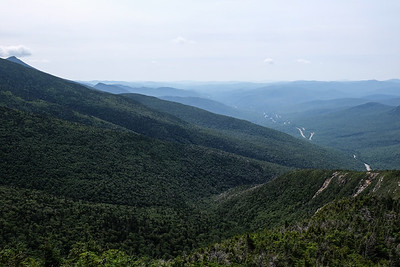 Along the Old Bridal Path - Mt. Lafayette.