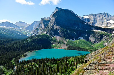 Grinnell Lake.