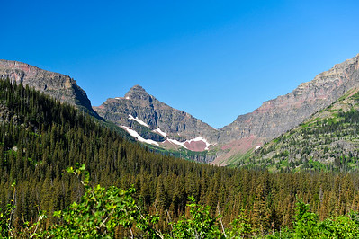 North Shore Trail - Glacier National Park, Montana.