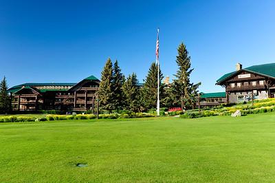 Glacier Park Lodge - Montana.