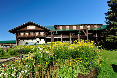 Glacier Park Lodge in East Glacier Park, MT.