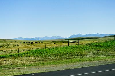 Just outside Glacier National Park, Montana.