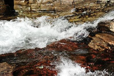 Top of the Ptarmigan Falls.