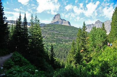 Ptarmigan Trail. Glacier national Park, Montana.