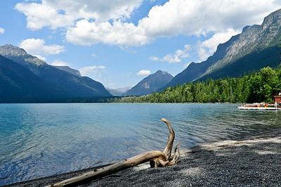 Lake McDonald Lodge - Glacier National Park, Montana.
