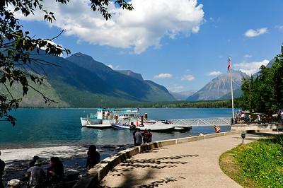Lake access.