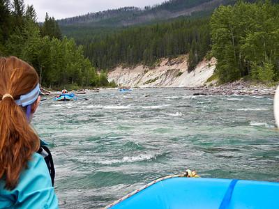 Middle Fork - Flathead River. Glacier National Park, Montana.