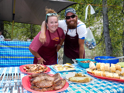Our guides, our cooks. So much wonderful food and company too.