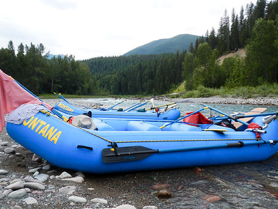 The rafts.