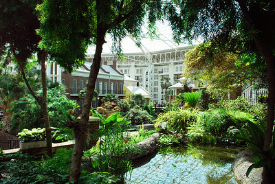 Inside the Delta Conservatory.