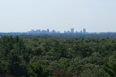 View to Boston from the Steel Tower.