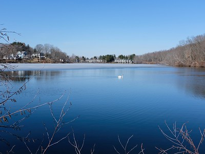Stevens Pond off Hatch Trail.
