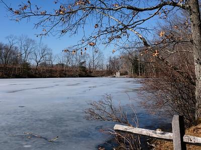 "Lake Cochichewick at ""The Hatch""."