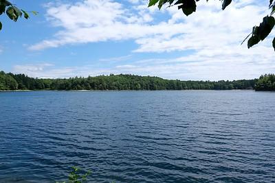 Walden Pond.