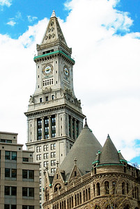 Custom House Tower.