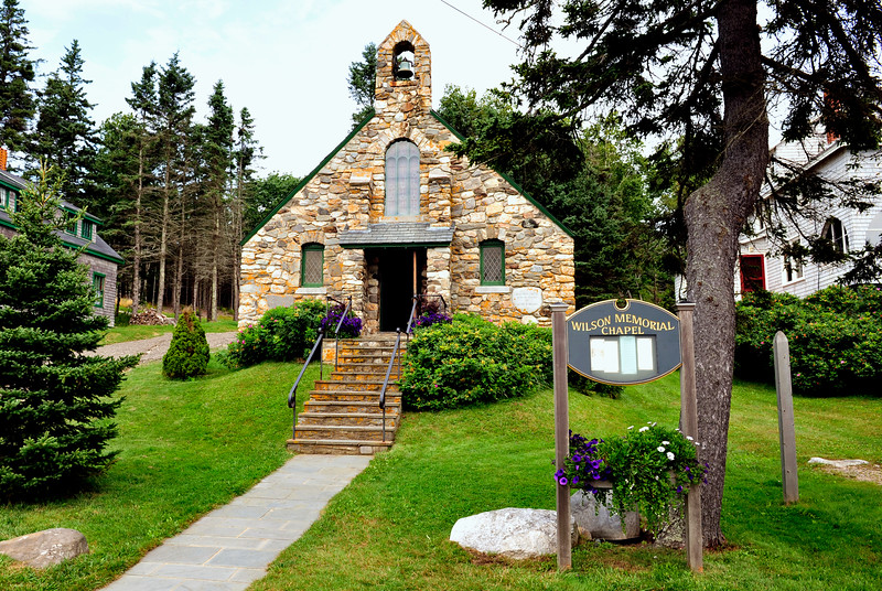 Little stone Chapel.