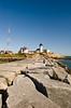 Eastern Point Lighthouse.